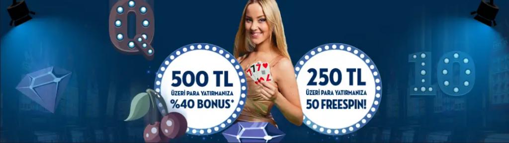 Çarşamba günleri 3000 TL Bonus