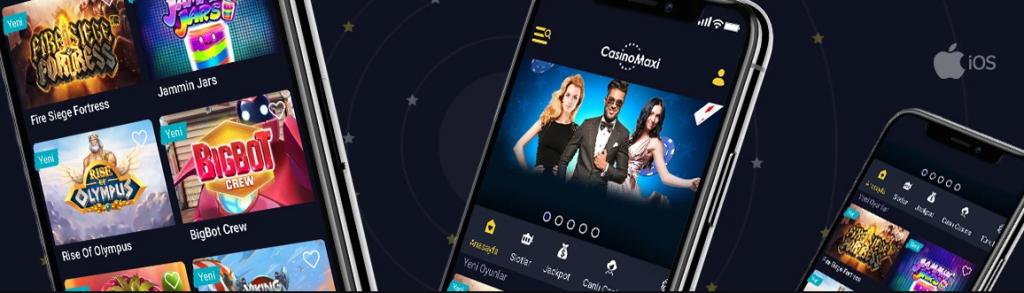 CasinoMaxi Uygulaması İndir